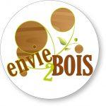 Logo paysagiste univert envie2bois balcons pays de gex jardinier aménagement décorateur extérieur